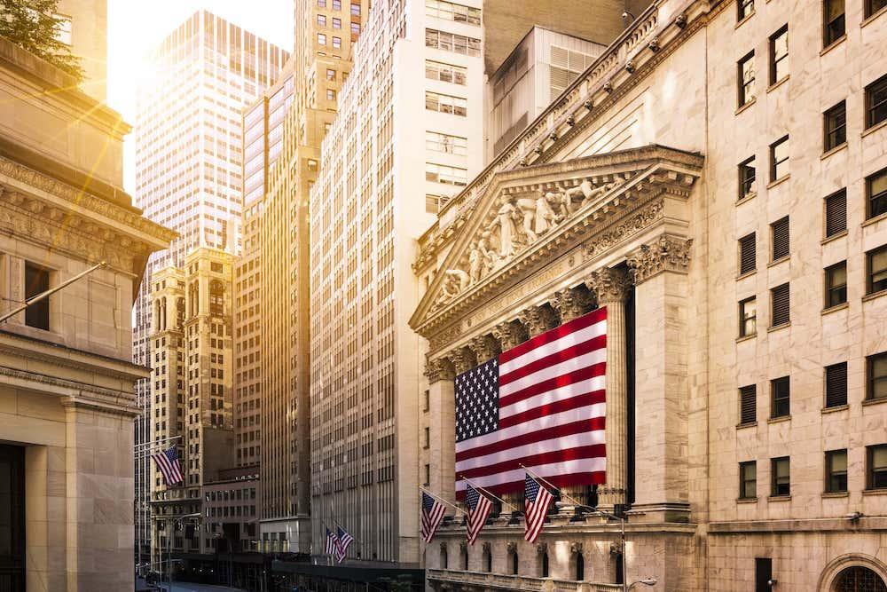 アメリカの金融街