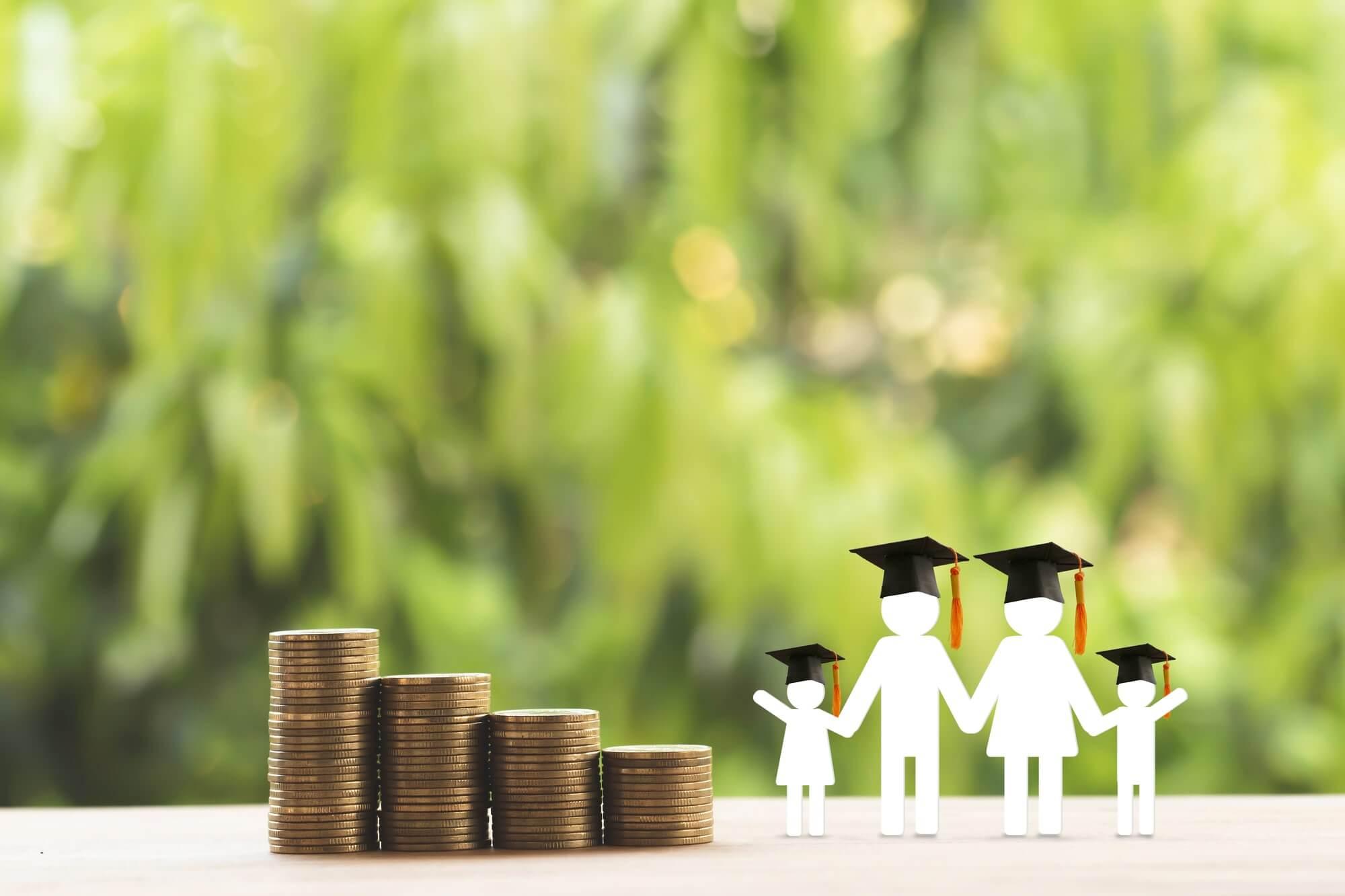 お金成長家族勉強年金